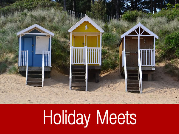 Notts DA camping and caravanning club holiday meets